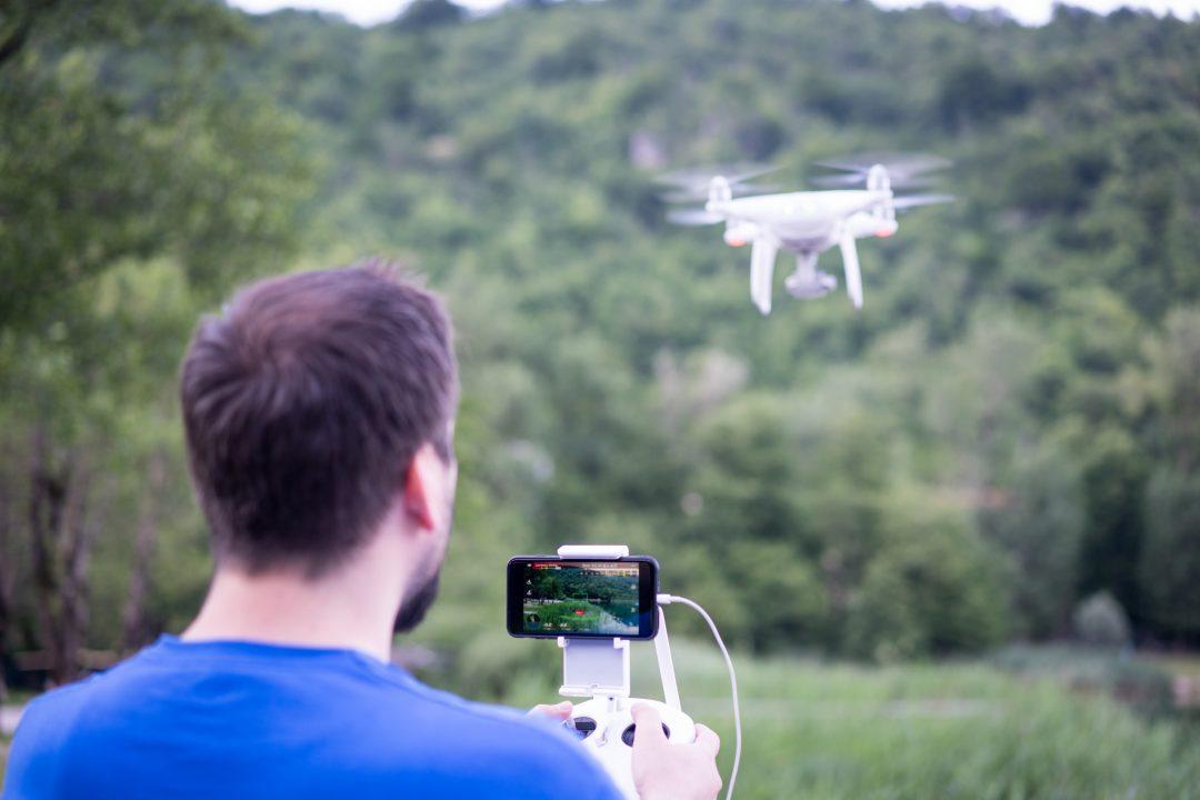 controlador de drones