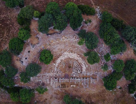 Uso de drones en Arqueología